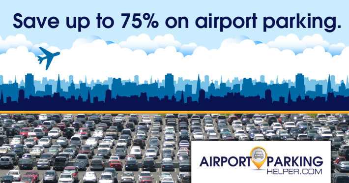 Save up to 75% on airport parking